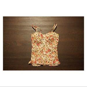 Romantic floral top